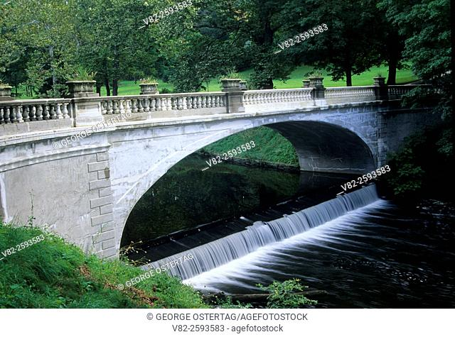White Bridge, Vanderbilt Mansion National Historic Site, New York