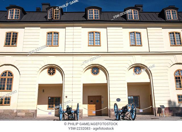 Royal stables at Drottningholm Palace, Stockholm