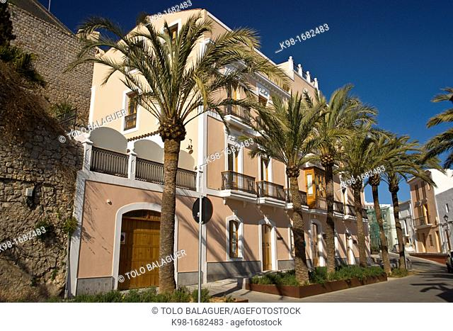 Hotel Mirador de Dalt Vila, Ibiza, Balearic Islands, Spain