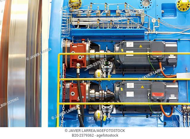 Drive motors. Horizontal turn mill lathe. Machining Center. CNC. Design, manufacture and installation of machine tools. Bost Machine Tools Company