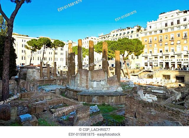Largo Argentina. Rome, Italy