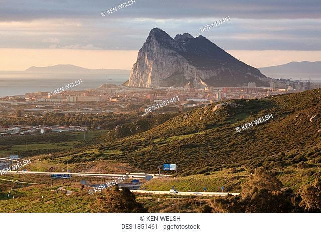 Scenic shot of hillside