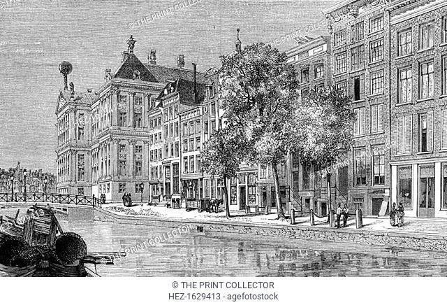 Amsterdam, Netherlands, 19th century