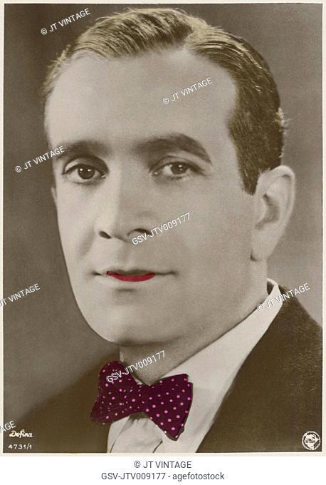 Actor Al Jolson, Portrait, 1920's