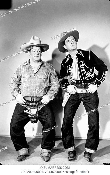 1941, Film Title: RIDE 'EM COWBOY, Studio: UNIVERSAL, Pictured: BUD ABBOTT, CLOTHING, COMEDY TEAM, LOU COSTELLO. (Credit Image: SNAP/ZUMAPRESS.com)