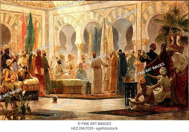Caliph Abd al-Rahman III Receiving the Ambassador, 1885