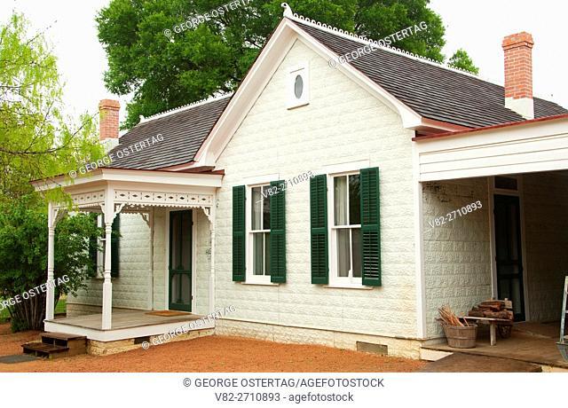 Farmhouse, Sauer-Beckmann Farm, Lyndon B. Johnson State Park and Historic Site, Texas