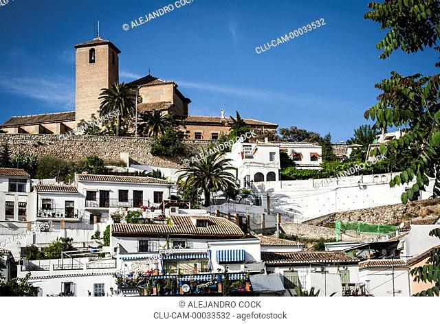 Church of Saint Cristobal, Granada, Andalusia, Spain, Europe