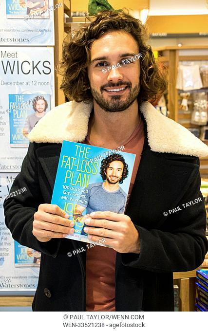 Joe Wicks, The Body Coach launched his new book in his old home town of Epsom in Surrey. His new book includes 100 Quick and Easy Recipes with Workouts