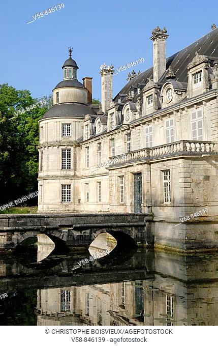 Castle of Tanlay, Yonne, France