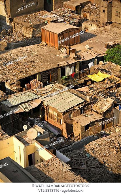 A view of old Cairo near Bab Zuweila, Cairo, Egypt