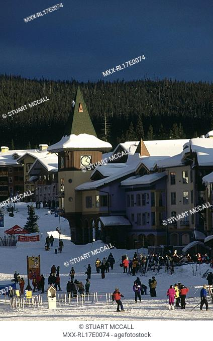 Sun Peaks Ski resort, BC