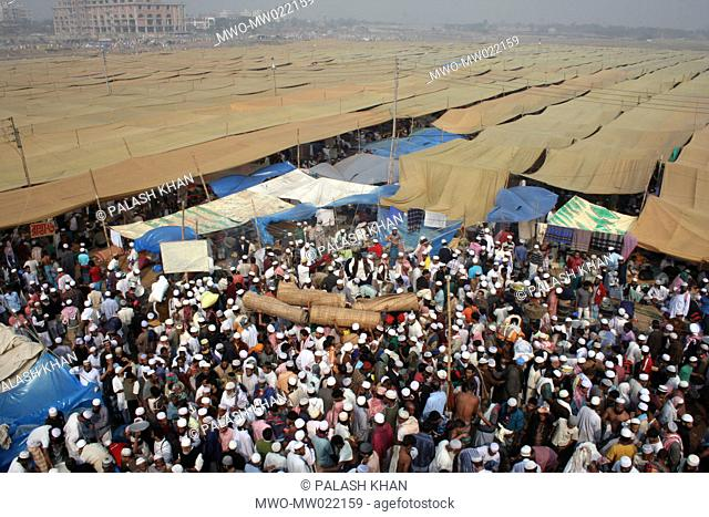 More than two million Muslims from all over the world join the three-day-long annual Biswa Ijtema on the banks of the Turag river