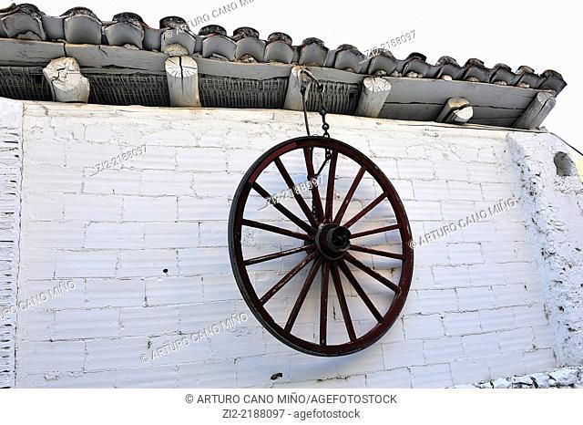 Ancient paper factory, nowadays is a hotel. Villarluengo, Teruel, Spain