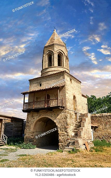 picture & image of the gate and bell tower of the Samtavisi Georgian Orthodox Cathedral, 11th century, Shida Karti Region, Georgia (country)