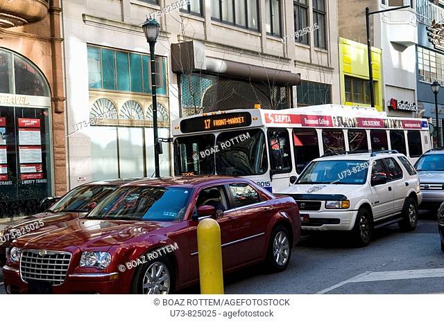 Traffic in Philadelphia