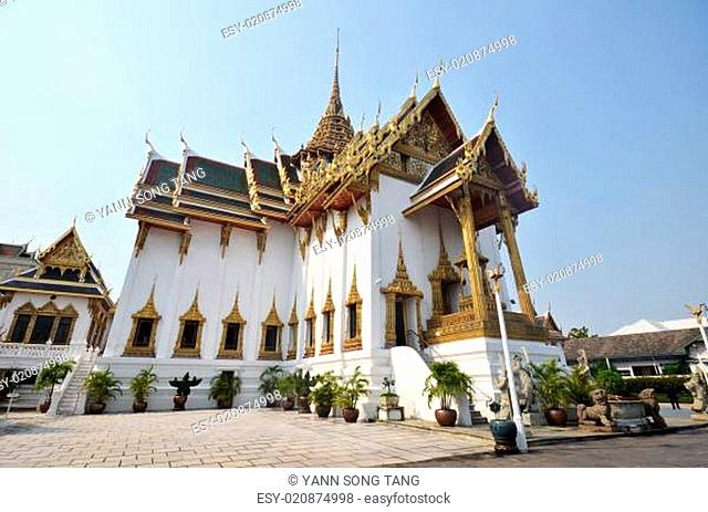 The Marble Temple - Wat Benchamabophit, Bangkok, Thailand