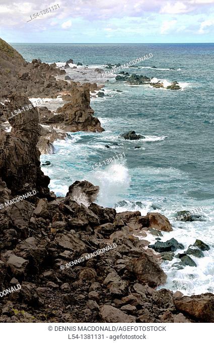 Coastline Basseterre St  Kitts Caribbean Island Cruise NCL