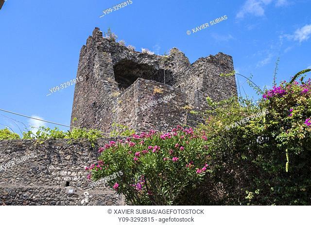 Norman Castle. Aci Castello, Catania, Sicily, Italy