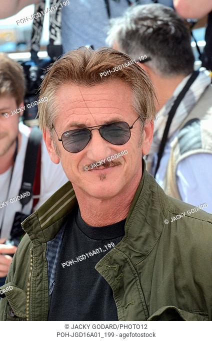 "Sean Penn Photocall for the film """"The Last Face"""" 69th Cannes Film Festival May 20, 2016"