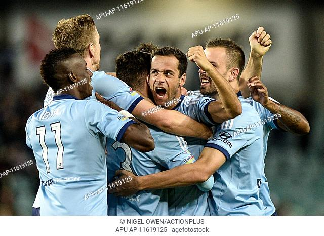 2015 Hyundai A-League Sydney FC v Adelaide Utd May 9th. 09.05.2015. Sydney, Australia. Hyundai A-League Semi Final. Sydney FC versus Adelaide Utd