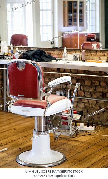 Old Style Mens Barber Salon on Long Street in Cape Town South Africa
