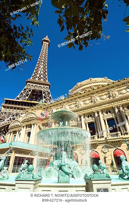 North America, United States, American West, Nevada, Las Vegas, travel, tourism, Paris Hotel and Casino