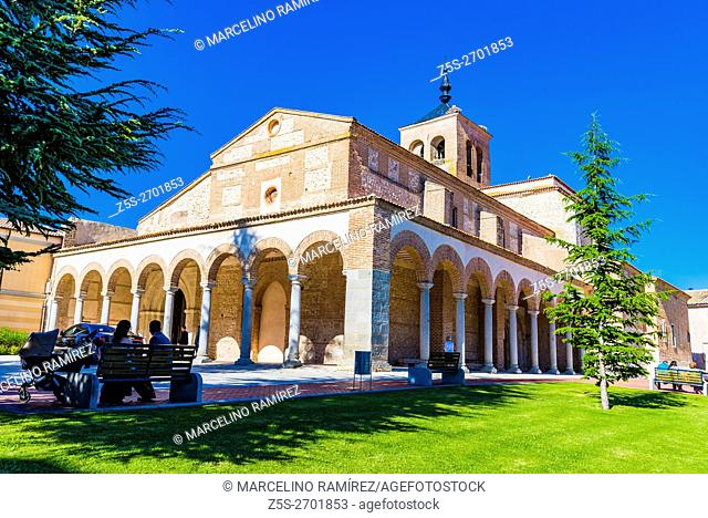 Church of Santa María del Castillo is a Catholic temple located in the town of Olmedo. It has a Romanesque portal of the twelfth century