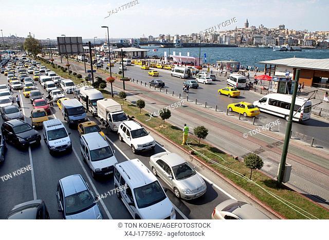 traffic jams in istanbul