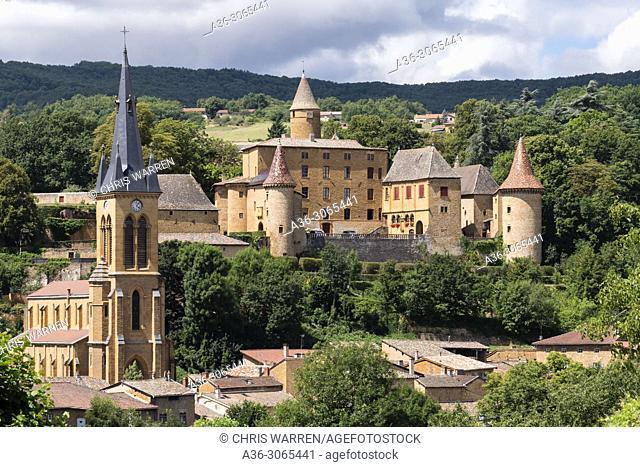 Jarnioux Castle Jarnioux Rhône Auvergne-Rhône-Alpes France