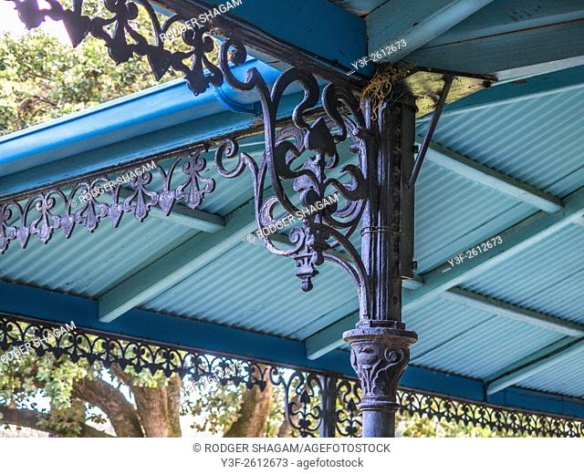 Victorian cast iron decor. Cape Town, South Africa
