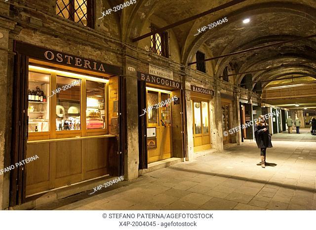 Osteria Bancogiro, Rialto, Venice, Italy