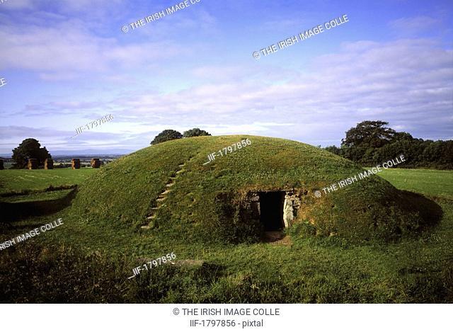 Four Knocks Passage Tomb, 1800 BC, Near Ardcath, Co Meath, Ireland