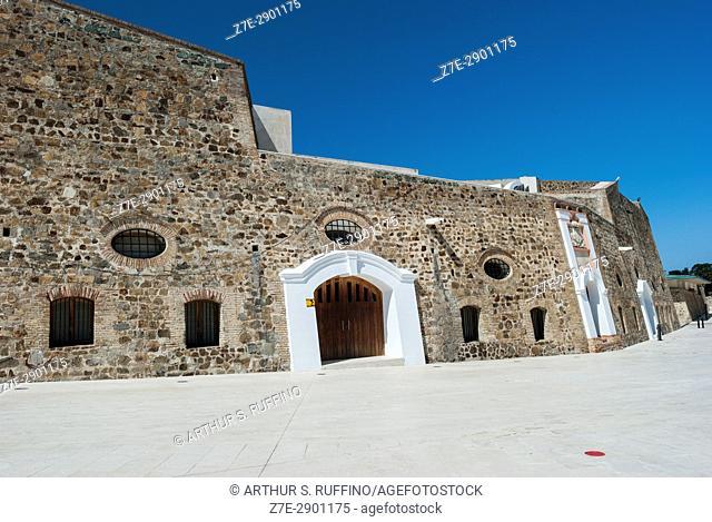 Plaza de Armas, Monumental Group of the Royal Walls (Conjunto Monumental de las Murallas Reales), Ceuta, autonomous city, Spain, North Africa