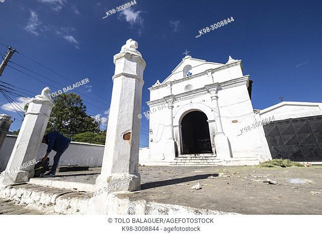 Iglesia de la Capilla del Calvario del Señor Sepultado, Santo Tomás Chichicastenango, República de Guatemala, América Central