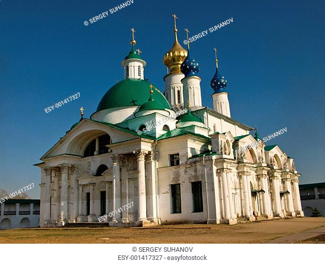 The cathedral of the Rostov monastery