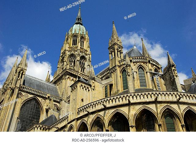 Cathedral Notre-Dame Bayeux Calvados Basse-Normandie France