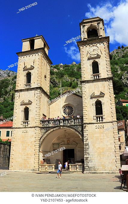 Cathedral of St Tryphon, Old Town of Kotor, Montenegro