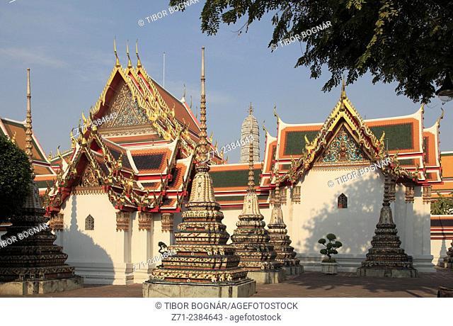Thailand, Bangkok, Wat Pho, buddhist temple, monastery