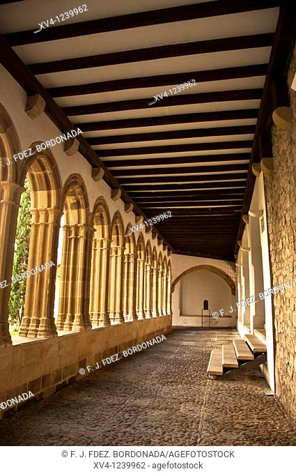 San Francisco Cloister in Bermeo  Biscay  Basque Country  Spain  Europe