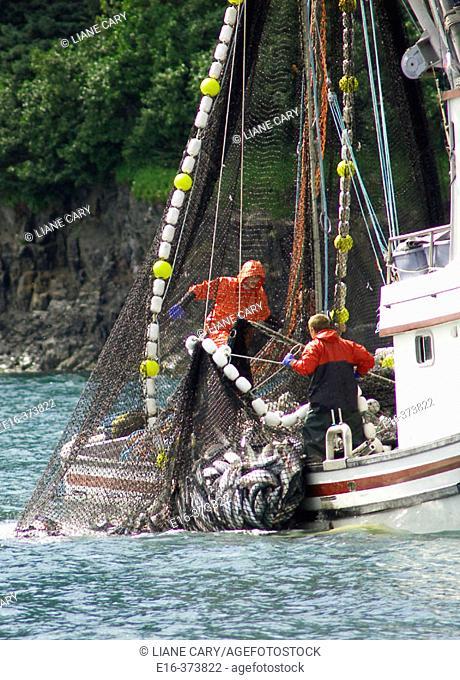net fishing, Alaska