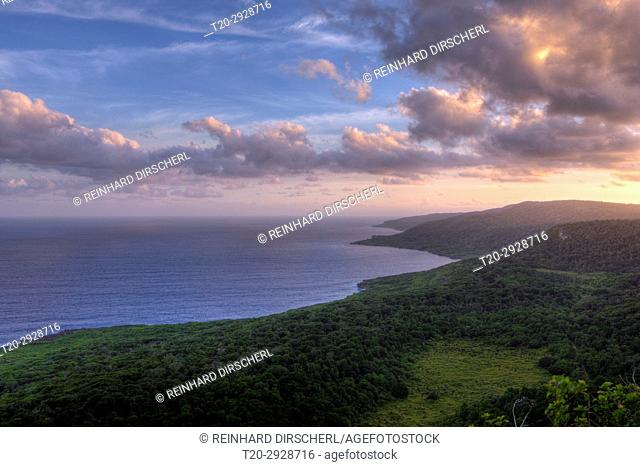 View from Margaret Knoll Lookout, Christmas Island, Australia