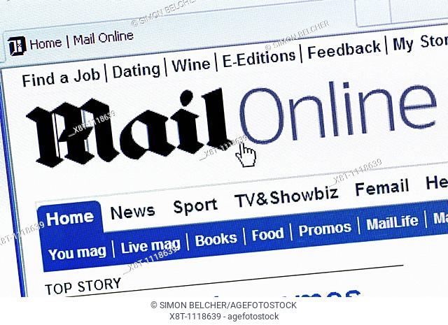 The Daily Mail Online Newspaper