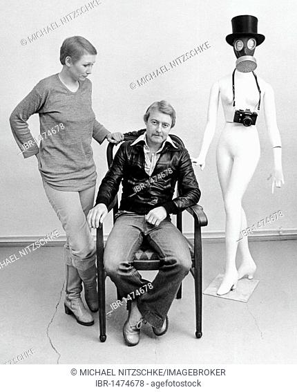 Photographer, milieu portrait, East Germany, Europe, circa 1986