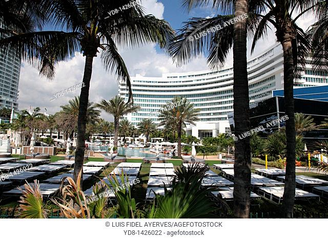 Fontainebleau Hilton Hotel, Miami Beach Florida, USA