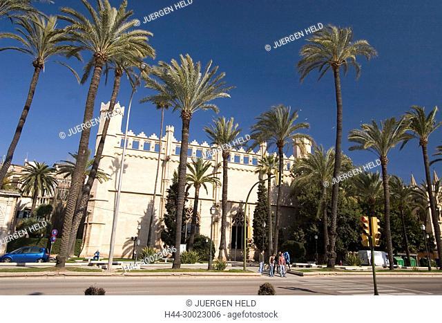 Mallorca, La Llotja, former stock exchange at Passeig Segrera