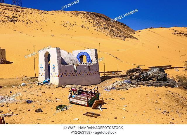 Nubia house, Upper Egypt, Africa