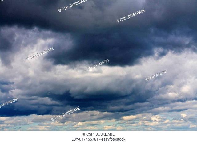 stormy clouds background