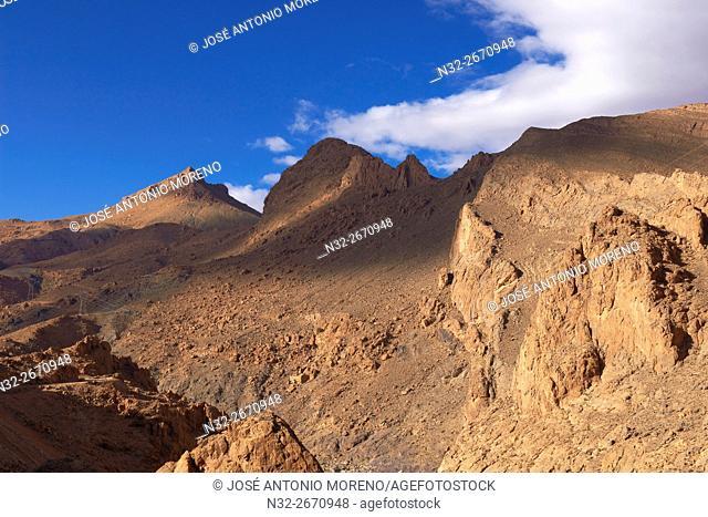 Ziz River, Oued Ziz, Gorges du Ziz, Ziz Valley, Ziz Gorges, Tafilalet region, Morocco, North Africa