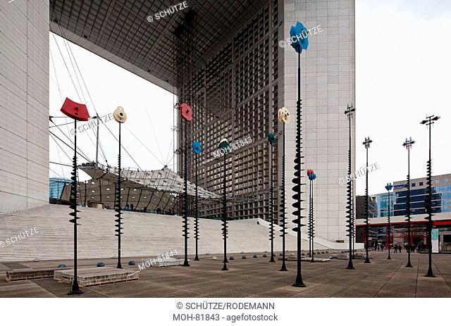 Paris, Hochhausviertel La Defense